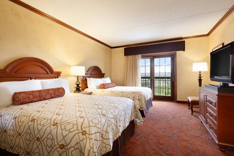 Chateau on the Lake Resort and Spa - Double Mountain View