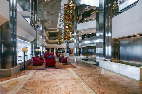 فندق كراون بلازا ديرة دبي - Hotel Lobby