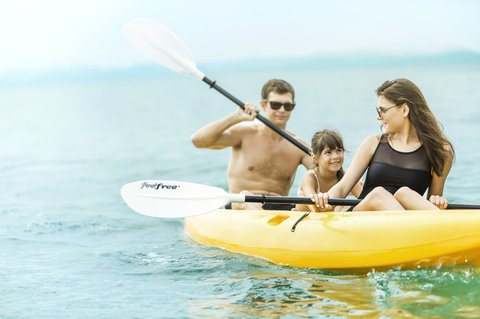 Point Yamu By Como - Kayaking Family