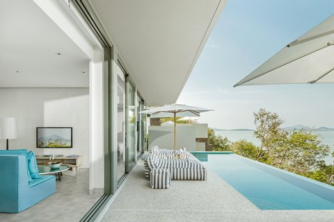 Point Yamu By Como - One Bedroom Pool Villa s Sundeck