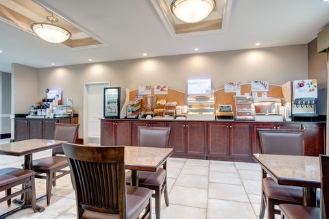 Holiday Inn Express & Suites GALLIANO - Breakfast Bar Holiday Inn Express and Suites Cutoff Louisiana