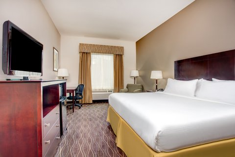 Holiday Inn Express & Suites GALLIANO - King Guest Room Holiday Inn Express Cut Off Louisiana