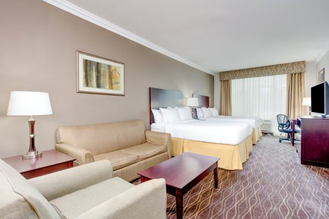 Holiday Inn Express & Suites GALLIANO - Two Queen Suite Holiday Inn Express and Suites Cutoff Louisiana