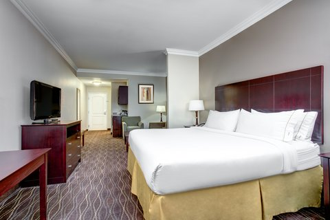 Holiday Inn Express & Suites GALLIANO - King Suite Holiday Inn Express and Suites Cutoff Louisiana
