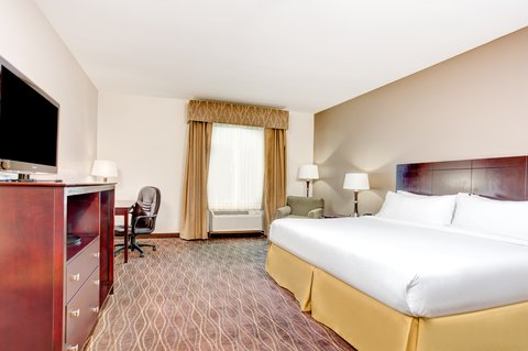 Holiday Inn Express & Suites GALLIANO - ADA Handicapped accessible King Guest Room Holiday Inn Express La