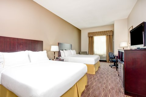 Holiday Inn Express & Suites GALLIANO - ADA Hearing accessible Two Queen Guest Room Holiday Inn Express La