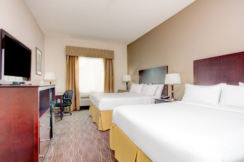 Holiday Inn Express & Suites GALLIANO - Two Queen Guest Room Holiday Inn Express and Suites Cutoff La
