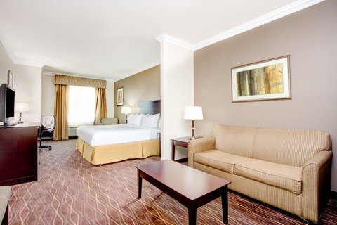 Holiday Inn Express & Suites GALLIANO - ADA Handicapped accessible King Suite Holiday Inn Express La