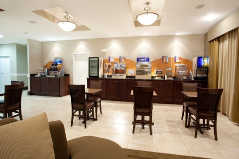 Holiday Inn Express & Suites GALLIANO - Breakfast Area Holiday Inn Express and Suites Cutoff Louisiana