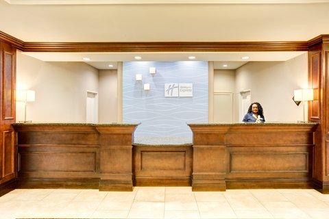Holiday Inn Express & Suites GALLIANO - Front Desk Holiday Inn Express Cutoff Louisiana