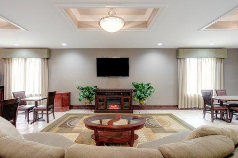 Holiday Inn Express & Suites GALLIANO - Hotel Lobby Holiday Inn and Suites Cutoff Louisiana