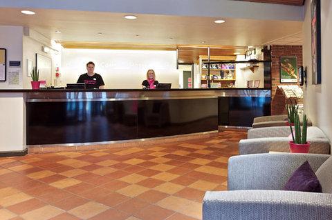 Comfort Hotel Holberg - Front desk