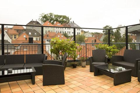 Comfort Hotel Holberg - Hotel terrace