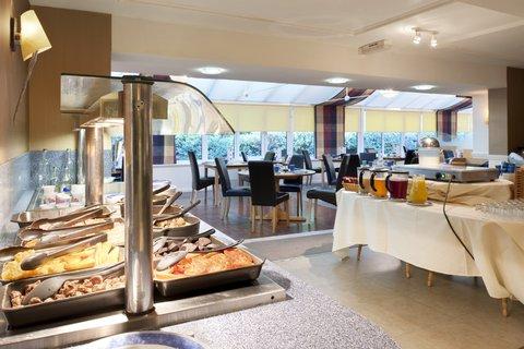 Holiday Inn A55 CHESTER WEST - Breakfast Buffet