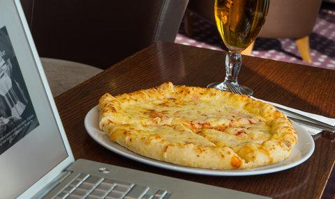 Holiday Inn Express HAMILTON - Feeling peckish  We serve tasty pizza s 24 7 at our Hamilton hotel