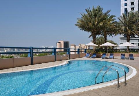 فندق ماريوت هاربر دبي - Outdoor Pool