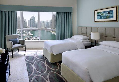 فندق ماريوت هاربر دبي - Suite - Twin Bedroom