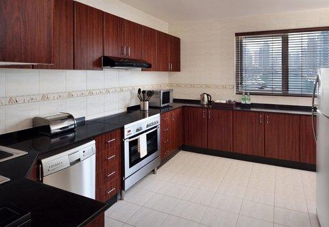 فندق ماريوت هاربر دبي - Suite - Kitchen