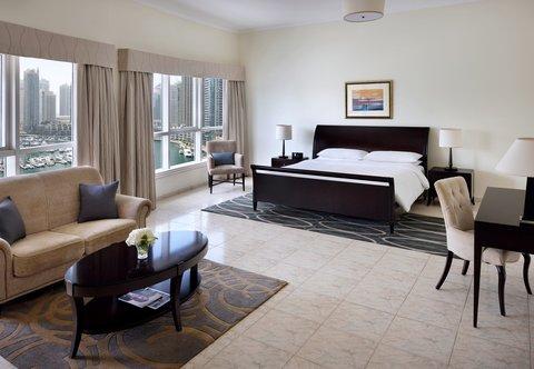 فندق ماريوت هاربر دبي - One-Bedroom King Suite