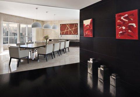 فندق ماريوت هاربر دبي - Three-Bedroom Penthouse Suite - Dining Room