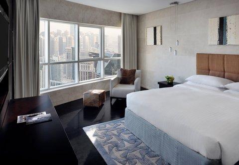 فندق ماريوت هاربر دبي - Three-Bedroom Penthouse Suite - Queen Bedroom
