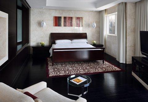 فندق ماريوت هاربر دبي - Three-Bedroom Penthouse Suite - King Bedroom