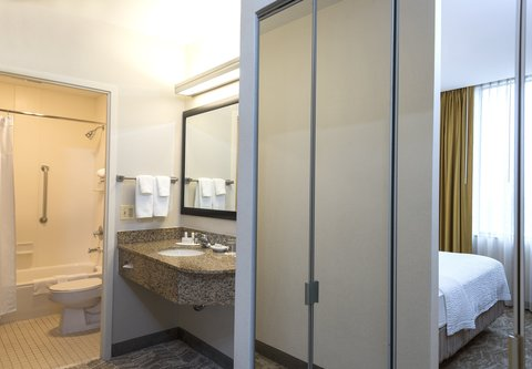 SpringHill Suites Chicago O'Hare - Guest Bathroom Vanity