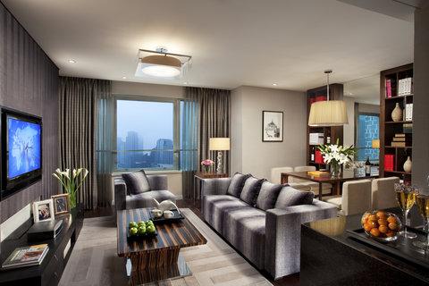 Ascott Huai Hai Road Shanghai - Living Room of Two Bedroom Premier