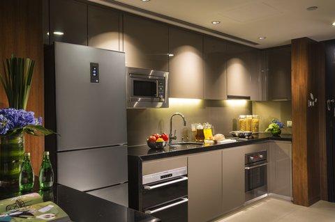 Ascott Huai Hai Road Shanghai - Kitchen Of One Bedroom Premier