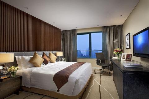 Ascott Huai Hai Road Shanghai - Master Bedroom Of Two Bedroom Premier