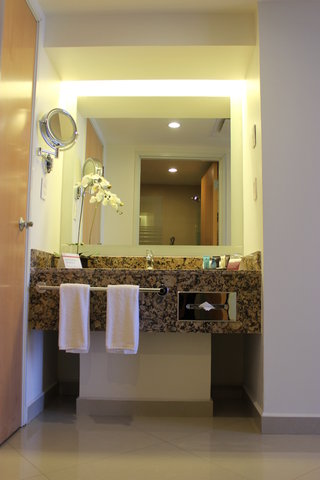 Crowne Plaza TUXPAN - Imperial suite bathroom amenities