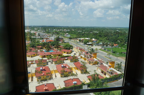 Crowne Plaza TUXPAN - View from elevator