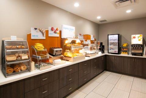 Holiday Inn Express & Suites NASHVILLE-I-40&I-24(SPENCE LN) - Breakfast Bar
