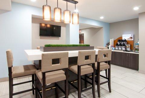 Holiday Inn Express & Suites NASHVILLE-I-40&I-24(SPENCE LN) - Guest Dining Lounge