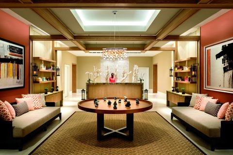 The Ritz-Carlton, Aruba - Spa Reception Area