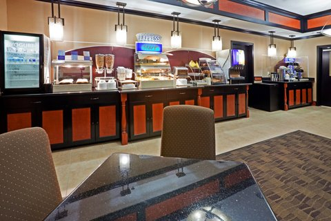Holiday Inn Express & Suites DALLAS CENTRAL MARKET CENTER - Breakfast Bar