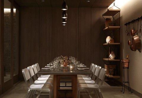 Marriott Charlotte City Center Hotel - Stoke Restaurant - Private Dining Room