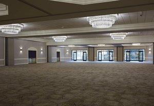 Ballroom - Marriott City Center Hotel Charlotte