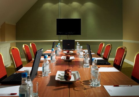 Forest of Arden - A Marriott  and Country Club - Morgan Room - Boardroom Set Up