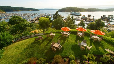 Friday Harbor House - Beautiful Guestroom View