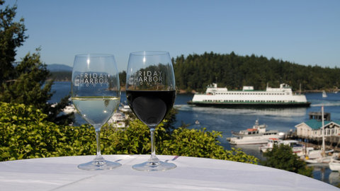 Friday Harbor House - Spectacular Patio View
