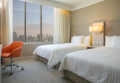Courtyard Santiago Las Condes - Double Double Guest Room - City View
