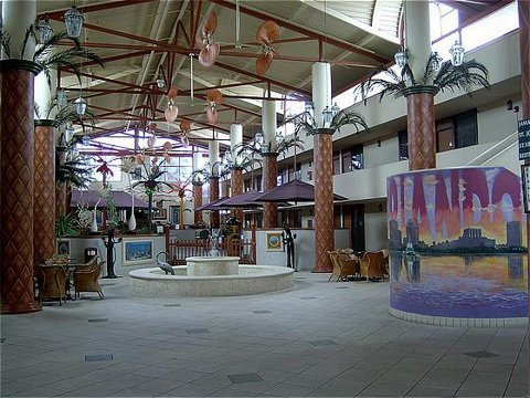 Allure Express Orlando Airport - Lobby view