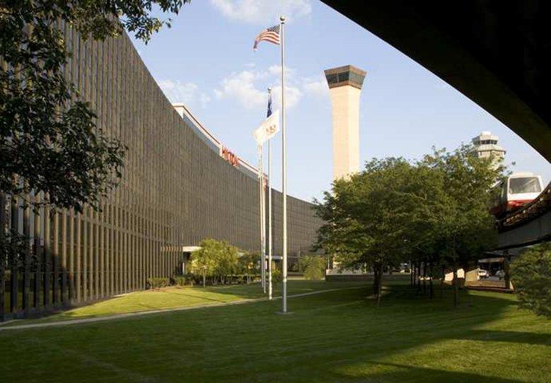 Hilton Chicago O'Hare Airport Vista esterna