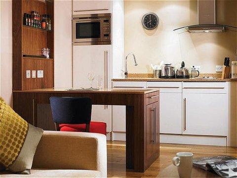 فندق ستيبردج سيتي ستار - Staybridge Suites-Cairo One-Bedroom Suite Kitchen