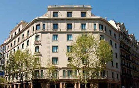 Hotel Barcelona Center Außenansicht