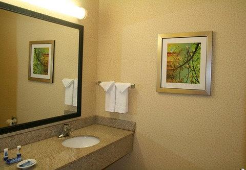 Fairfield Inn & Suites Birmingham Fultondale/I-65 - Suite Bathroom
