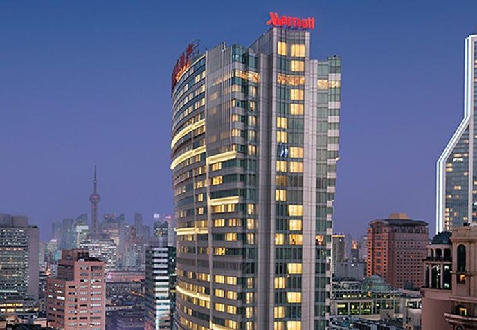 Shanghai Marriott Hotel City Centre 外観