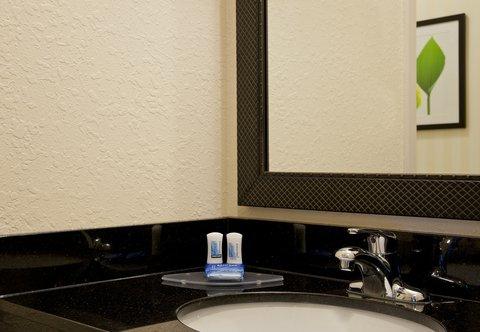 Fairfield Inn by Marriott Naperville - Guest Room Bathroom Amenities