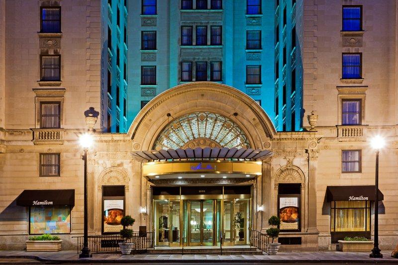 Crowne Plaza Hotel The Hamilton - Washington DC Set udefra